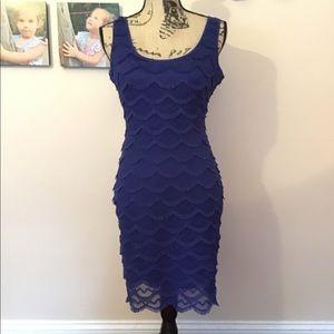 GUESS Fringe Dress